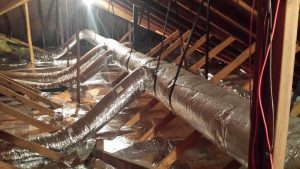 Trunk and Branch Duct System 15 Years After Install