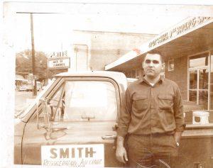 Ruse Smith on Main St Ville Platte – 1960's