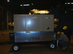 Custom Built Portable Cooling System for Union Tank