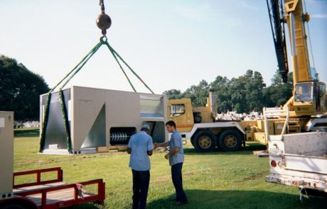 15 Ton Pagkage Unit at Sacred Heart High School