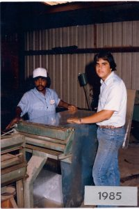 Scott and Ronald – 1985