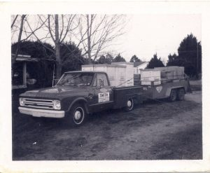 Smith AC Truck and Trailer 1960s with Lennox Equipment