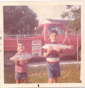 Todd and Scott Smith with AC Truck 1973