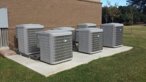 6 Carrier Units at Evangeline Public Library