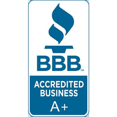 A+ Better Business Bureau Rating
